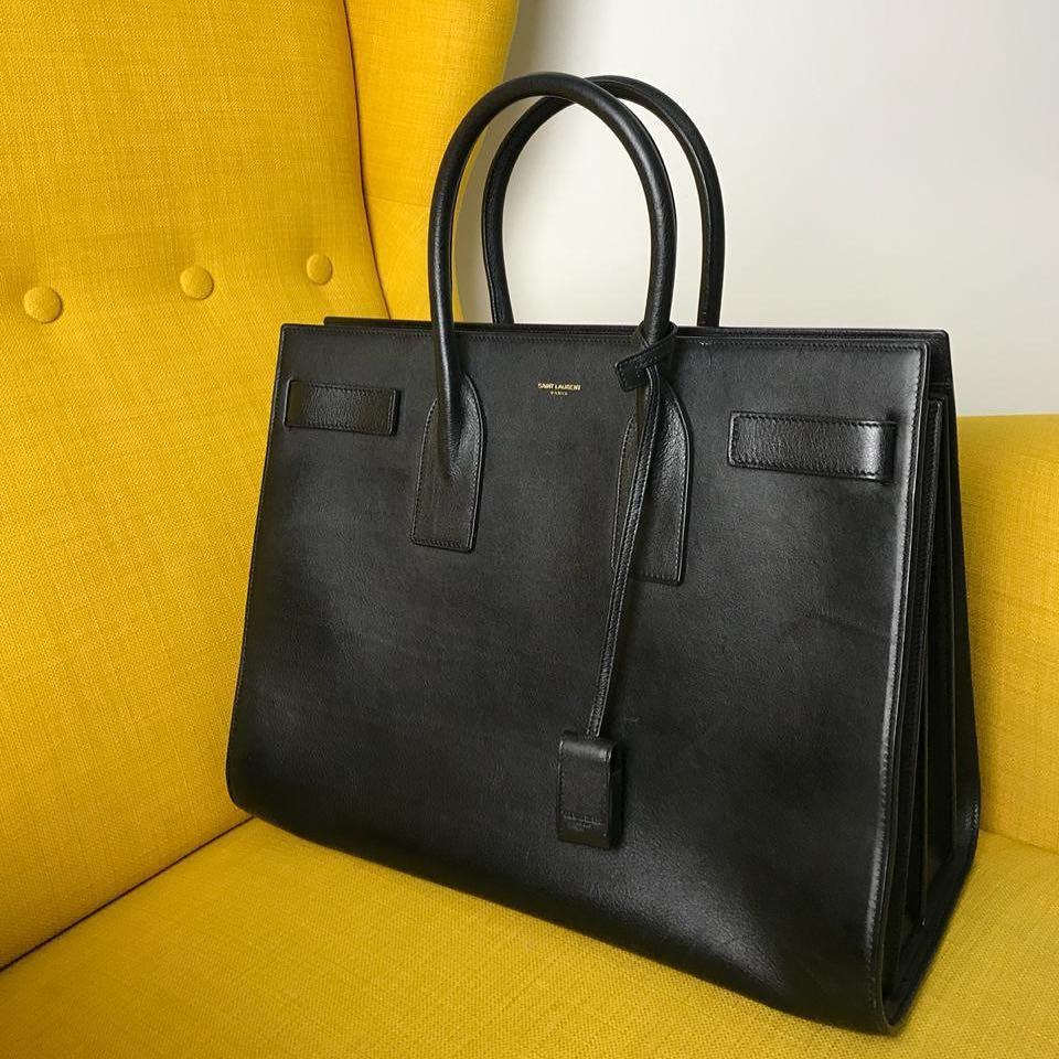 47d7d3dfc41f Купить крупную сумку Saint Laurent за 49450 руб. в интернет магазине ...