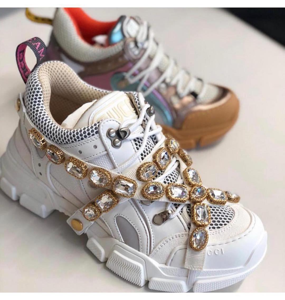 988dcd65 Купить кроссовки Gucci за 96600 руб. в интернет магазине - бутике с ...