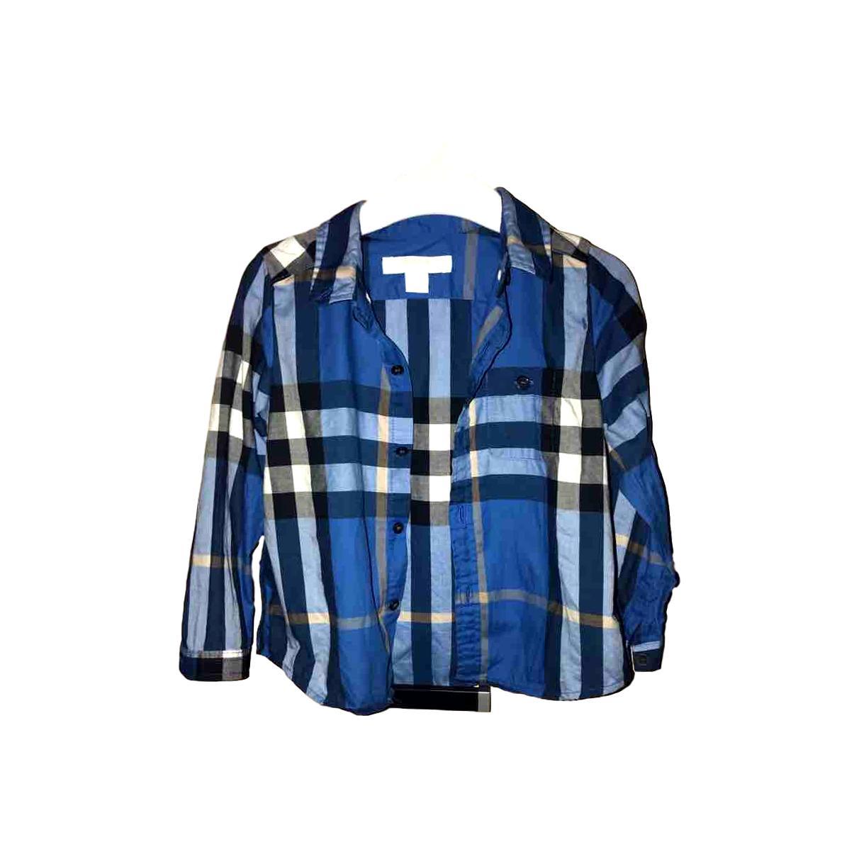 b25190c53b6b Детская одежда для Мальчиков   Рубашки Burberry купить на Luxxy.com ...
