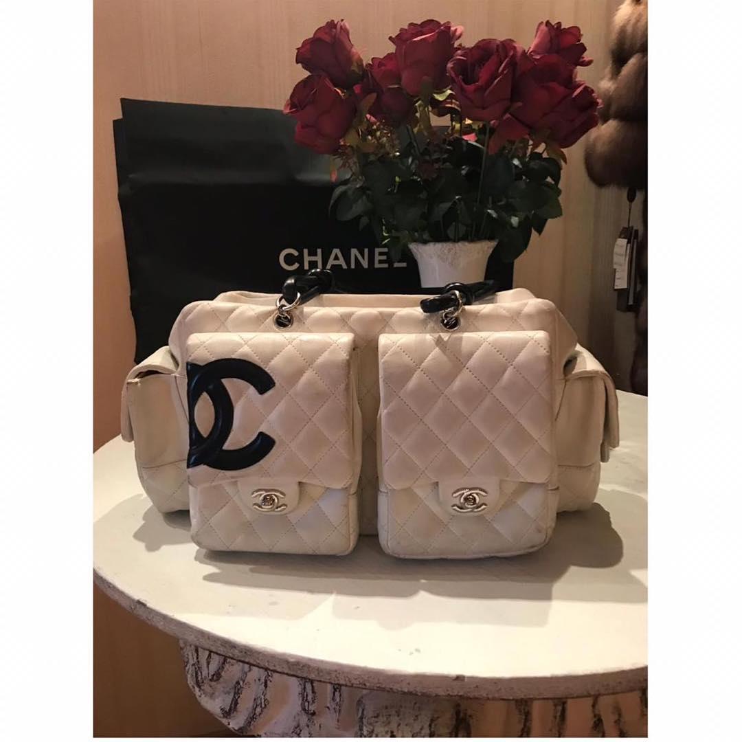 64e643f2937b Купить среднюю сумку Chanel за 12650 руб. в интернет магазине ...