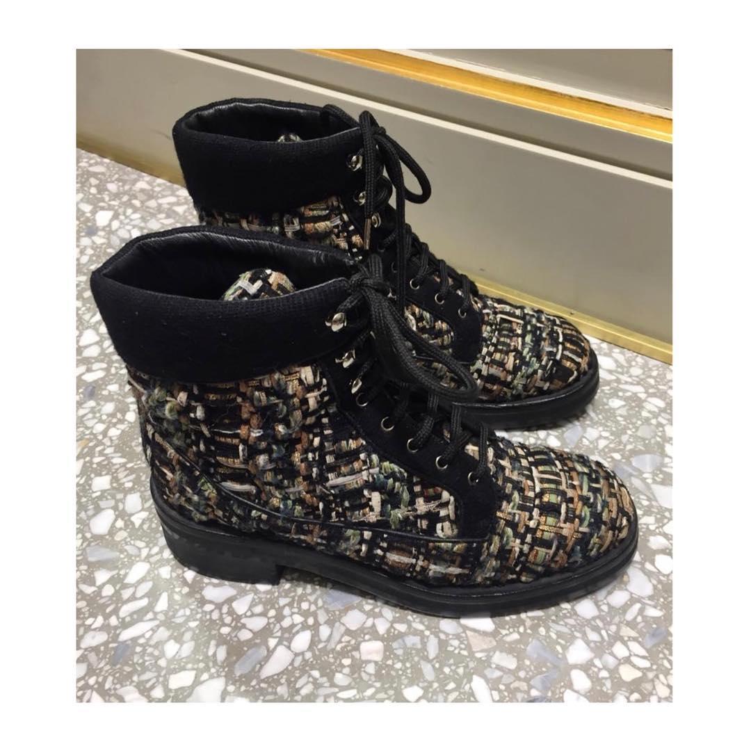 ba071b80d3bf Купить ботинки Chanel за 30470 руб. в интернет магазине - бутике с ...