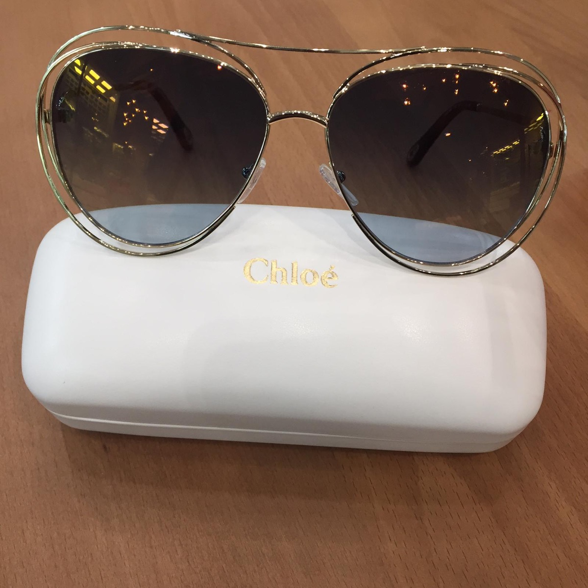 a0706a850639 Купить солнцезащитные очки Chloé за 18000 руб. в интернет магазине ...