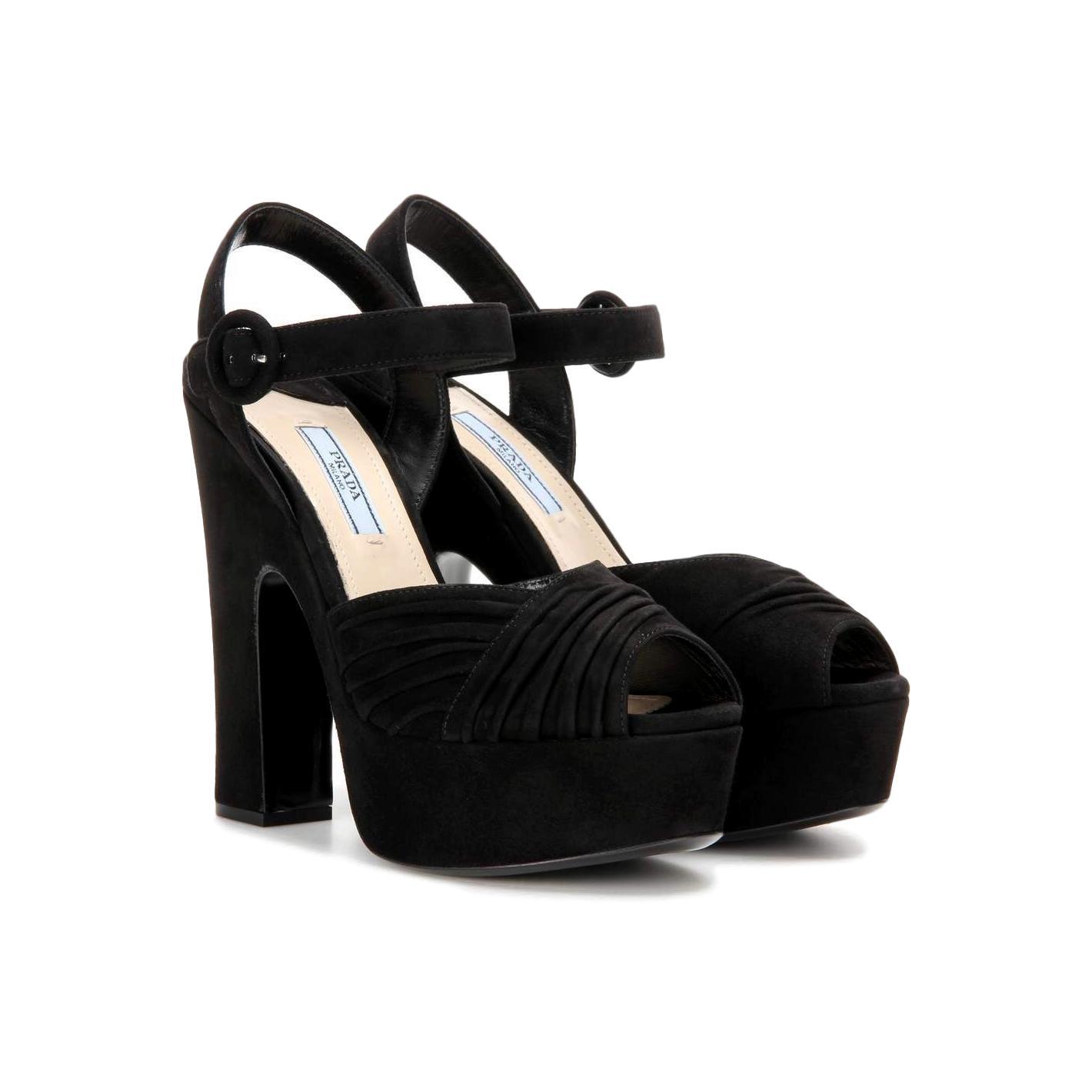Купить босоножки Prada за 40000 руб. в интернет магазине - бутике с ... b2c42a356ac