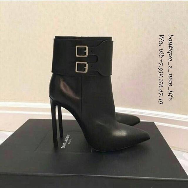 Купить ботильоны Yves Saint Laurent за 29330 руб. в интернет ... 22d30d438fe