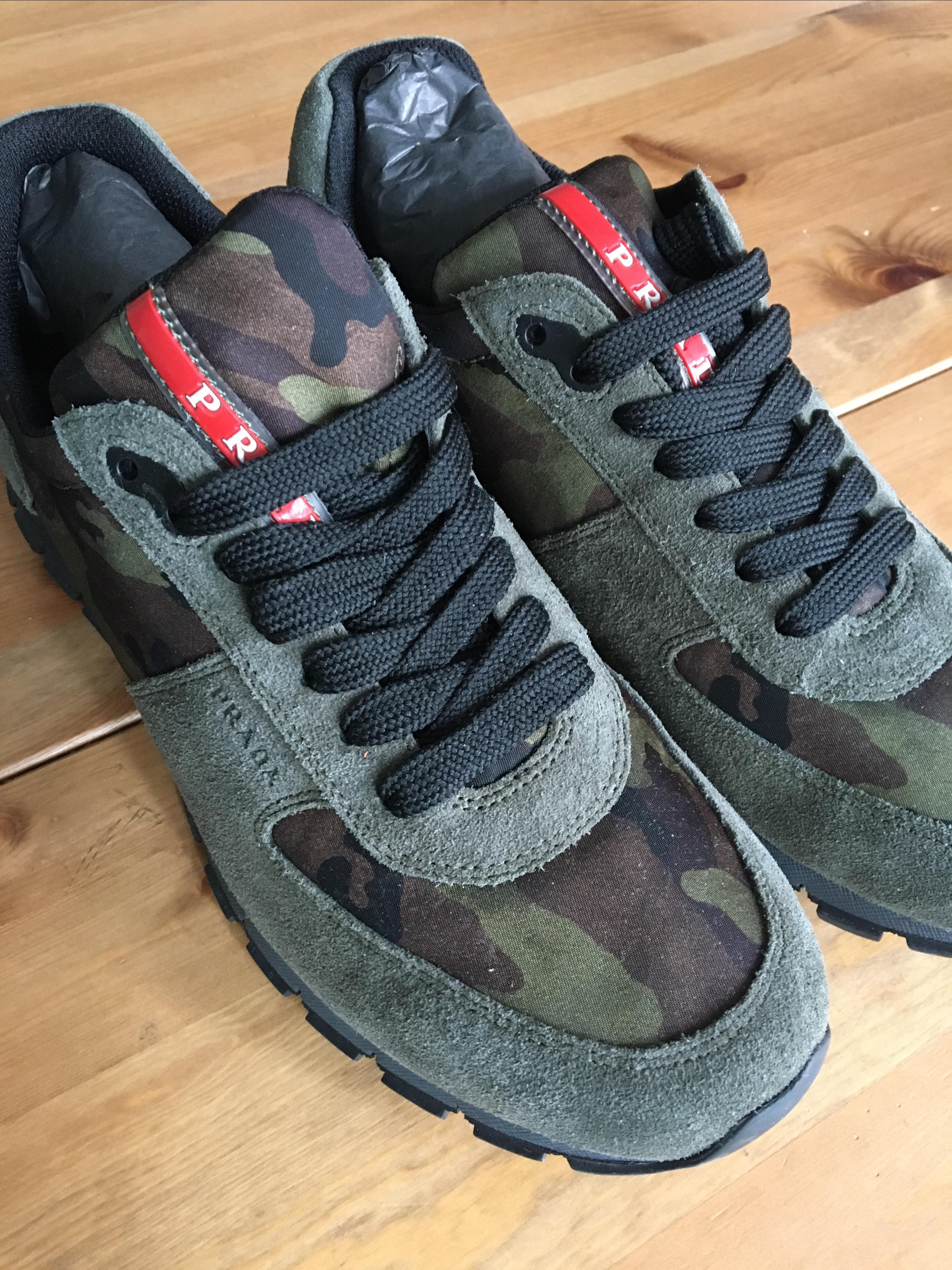 bd3e186a8336 Купить кроссовки Prada за 25000 руб. в интернет магазине - бутике с ...