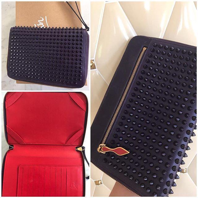 50c5492370a2 Купить клатч Christian Louboutin за 31400 руб. в интернет магазине ...