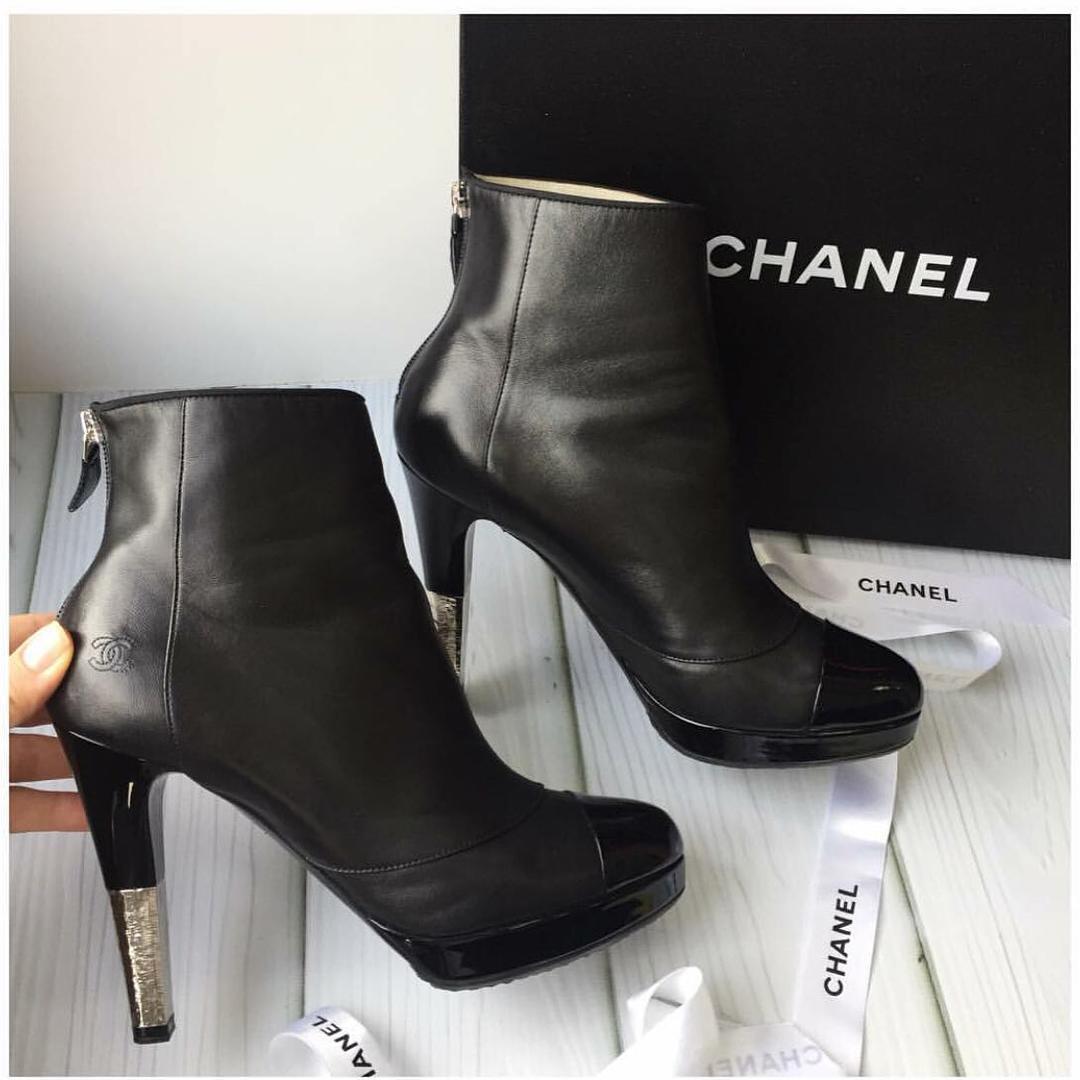 Ботильоны Chanel