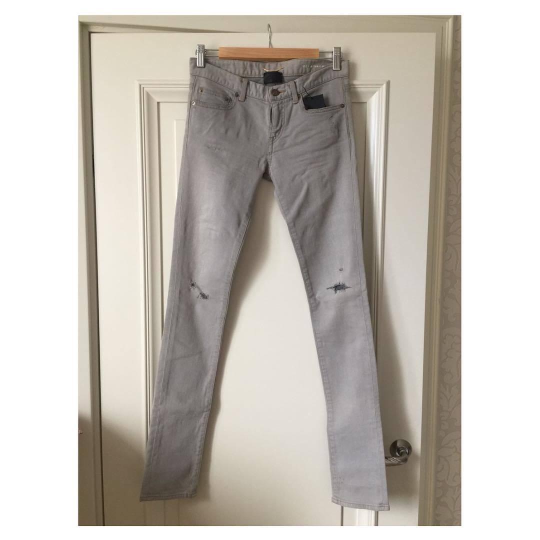 Купить джинсы Saint Laurent за 7480 руб. в интернет магазине ... 3479c7711c8