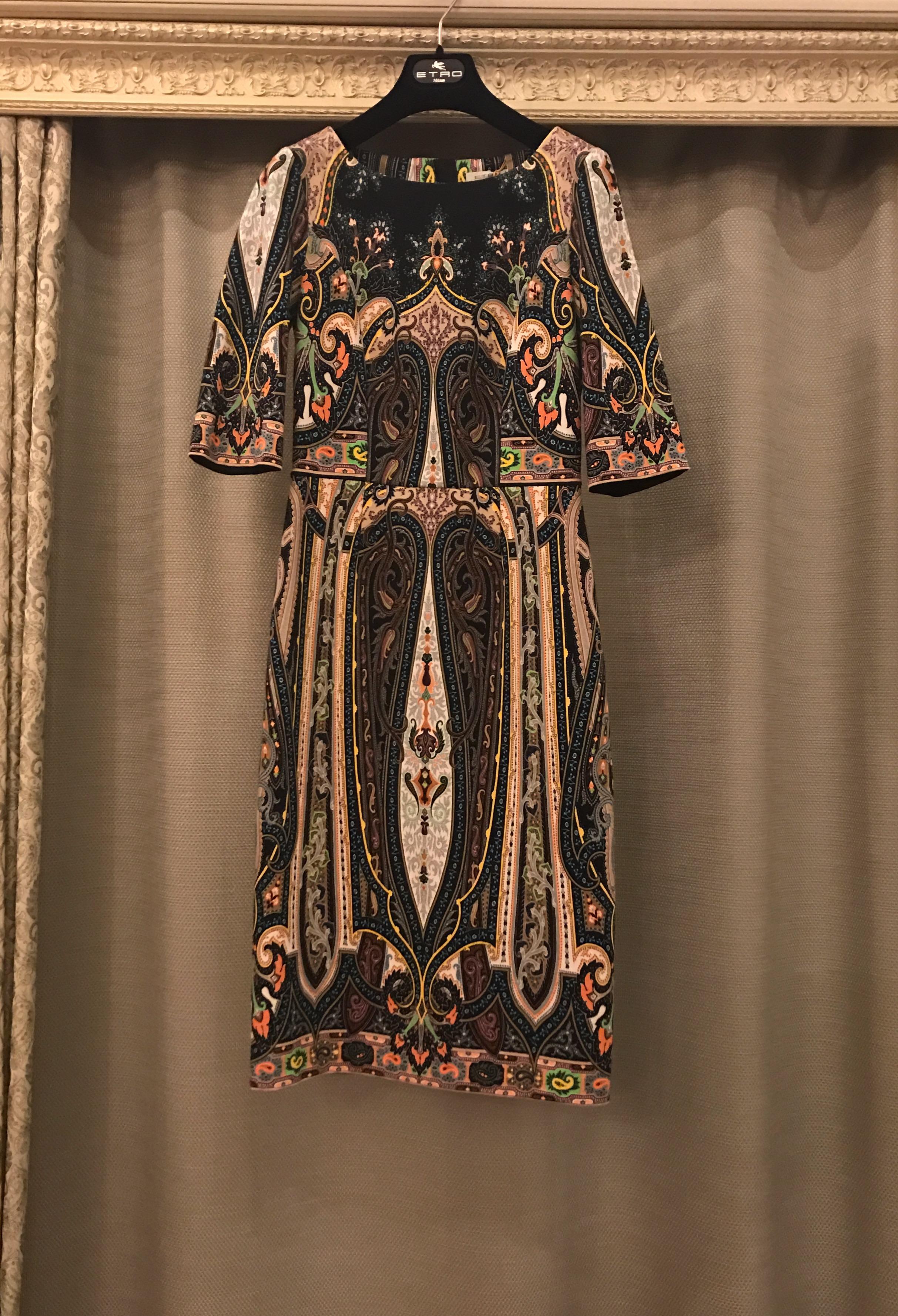 b6eb1a30090 Купить платье Etro за 30760 руб. в интернет магазине - бутике с ...