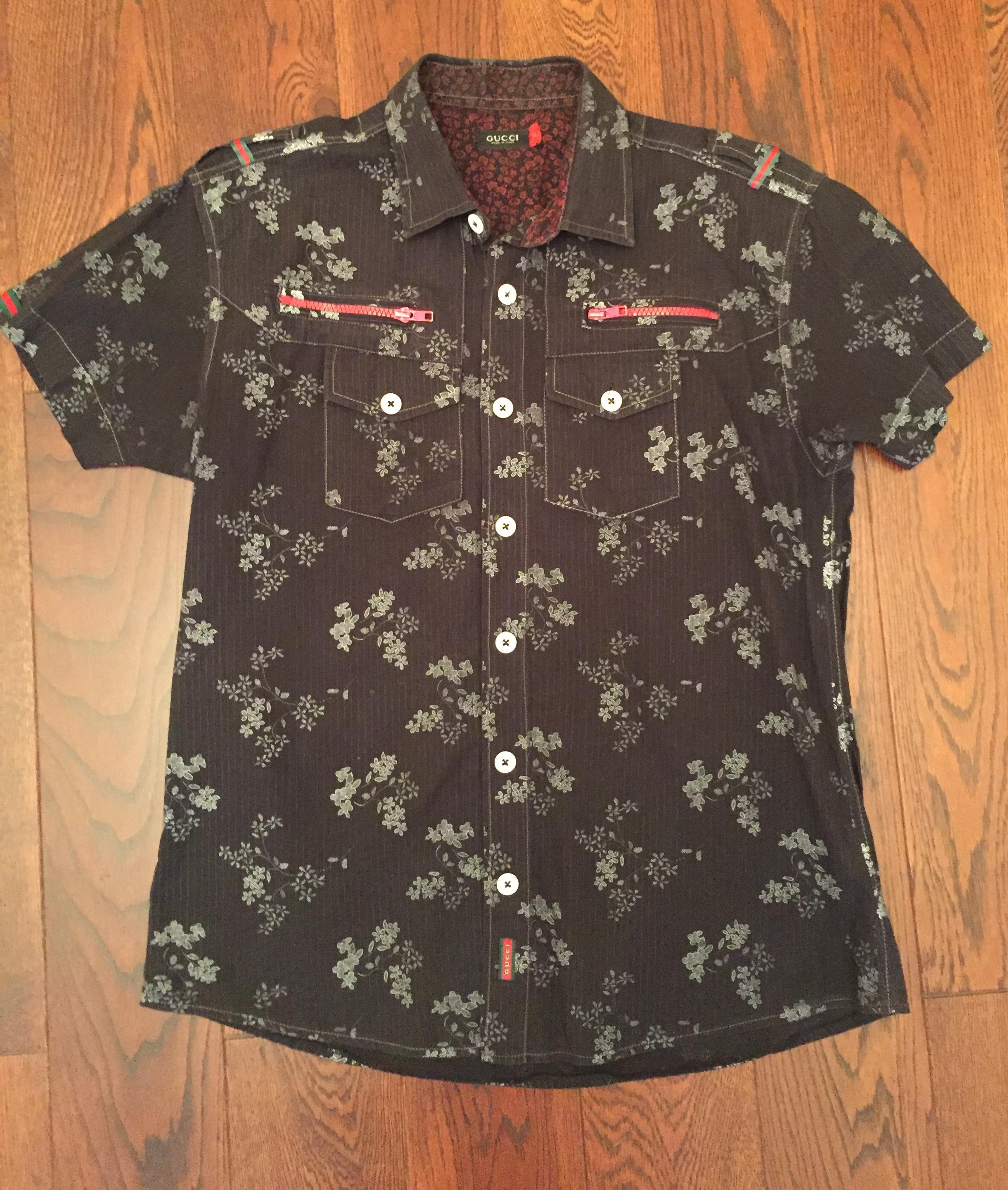 934e92c12804 Купить рубашку Gucci за 1000 руб. в интернет магазине - бутике с ...