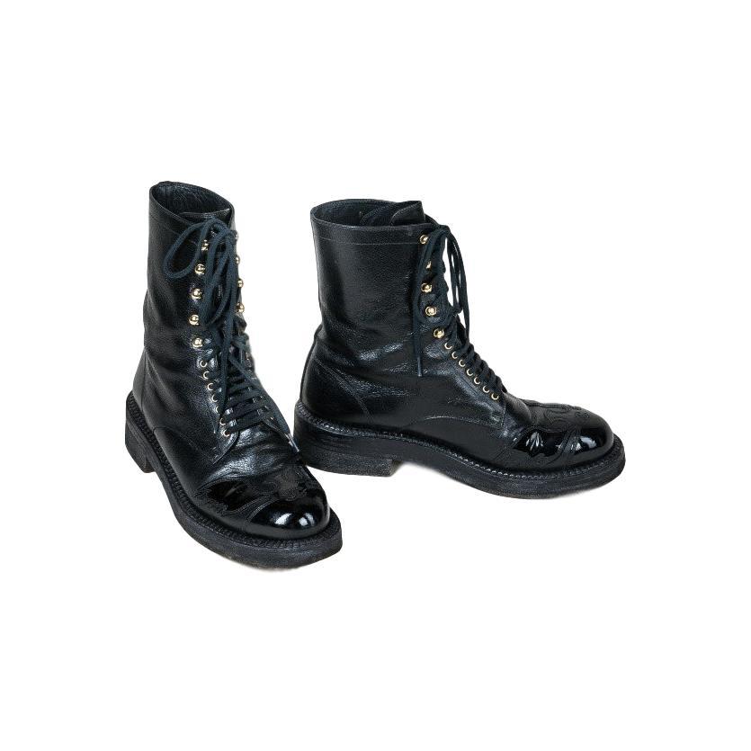b5b0f5b3d26e Купить ботинки Chanel за 30000 руб. в интернет магазине - бутике с ...