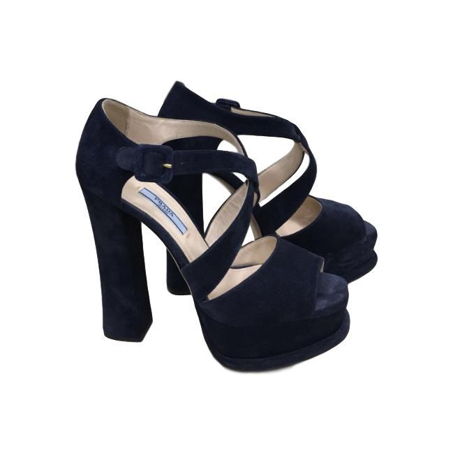 Купить босоножки Prada за 19000 руб. в интернет магазине - бутике с ... eb865193130