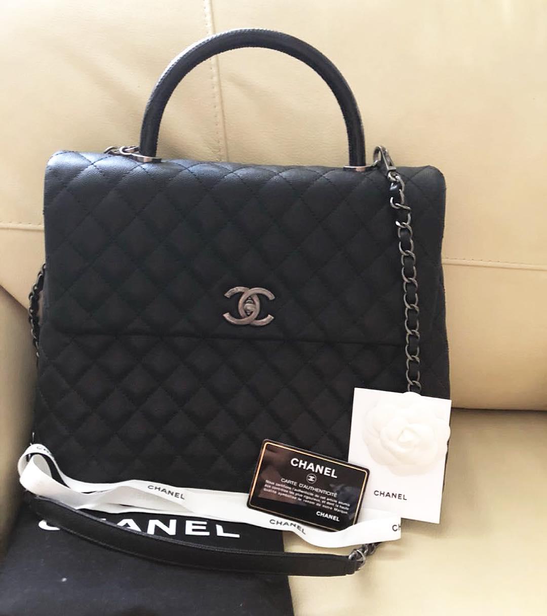 Купить среднюю сумку Chanel за 258750 руб. в интернет магазине ... de5b3e40b99
