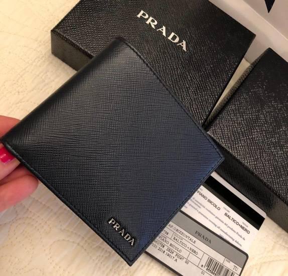 0c815928ab4d Ключница из натуральной кожи. Кошельки, портмоне Prada купить на Luxxy.com