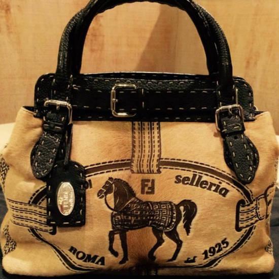 Купить сумку Fendi/Фенди на luxxycom со скидкой